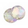 Acrylic 12mm Round Facet Crystal Aurora Borealis